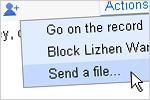 iGoogle e Orkut chat
