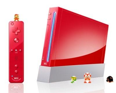 Wii vermelha