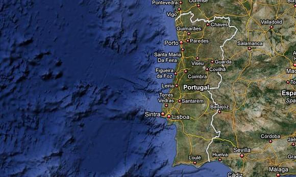 mapa de portugal google Google Maps Offline não funciona em Portugal e no Brasil mapa de portugal google