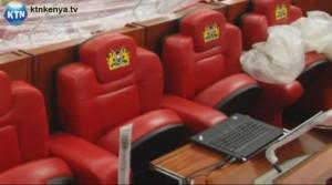 Cadeiras do parlamento queniano
