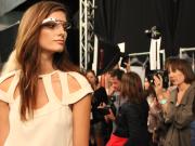 Google Glass semana de moda de Nova Iorque
