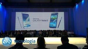 Apresentação do Samsung Galaxy Note II em Portugal