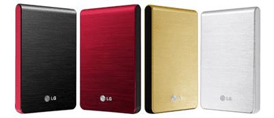 LG discos portáteis XD3