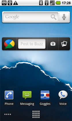 Google Buzz Android