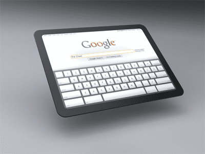 Google Chrome Tablet PC