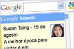 Google lança Sidewiki para Internet Explorer e Firerox
