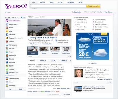 Novo Yahoo