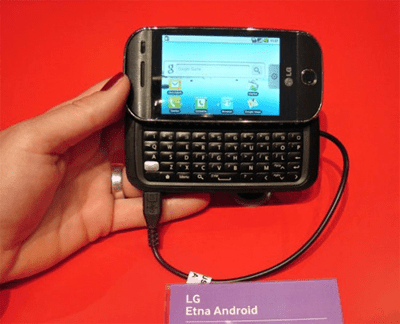 Smartphone LG Etna Android