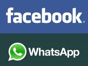 Facebook and WhatsApp Messenger