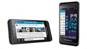 BlackBerry Z10 evleaks