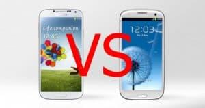 Galaxy S 4 vs Galaxy S 3