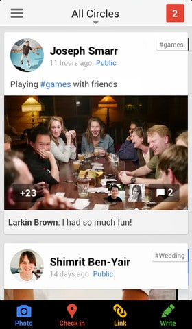 Google + iOS