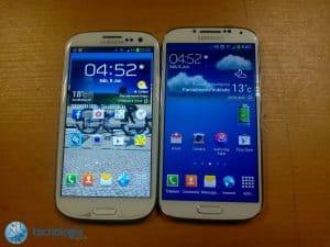 Galaxy S4 vs Galaxy S3 (1)