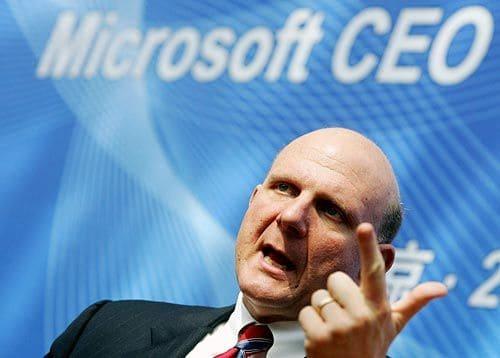 Steve Ballmer deixa o concelho de administração da Microsoft
