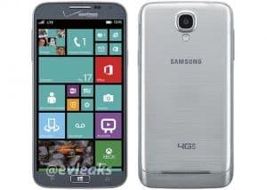 Samsung ATIV SE evleaks