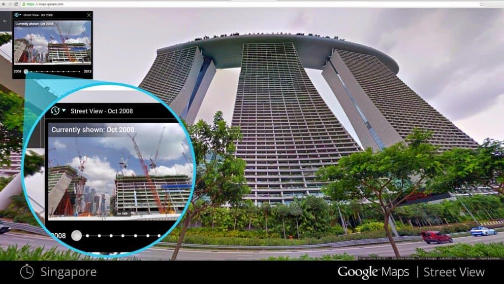 Street View tempo