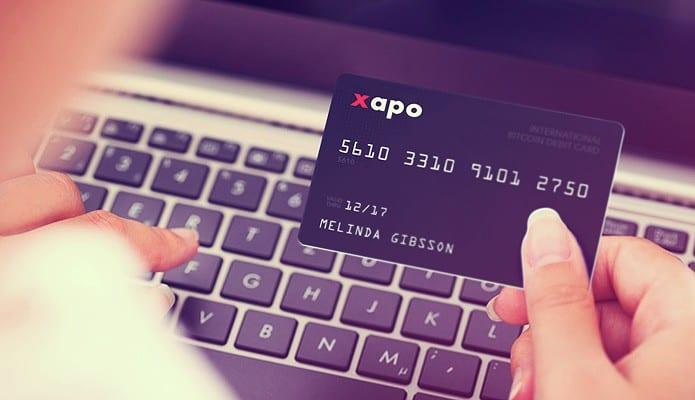 Xapo cartão bitcoin 2