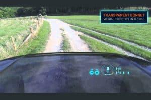 capot transparente Land Rover