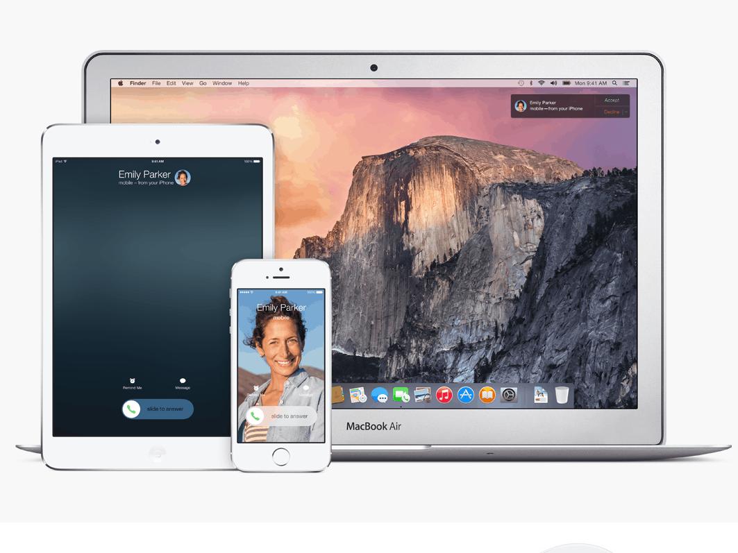 iOS 8 e Yosemite
