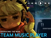Steam music player