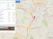 horários CP google maps