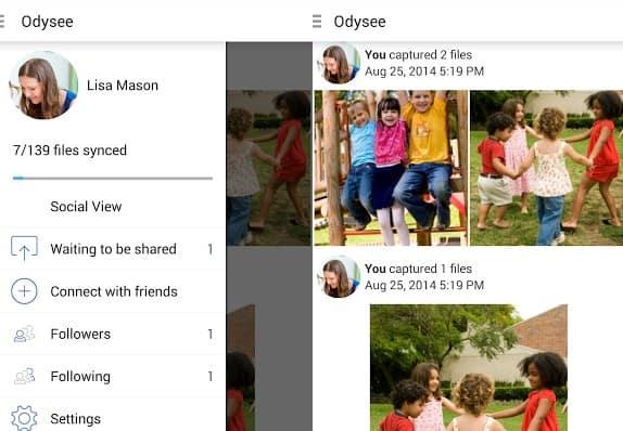 Odysee-app