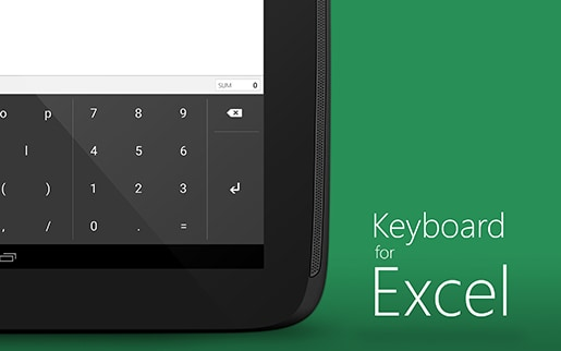 keyboardforexcel_screenshot_1
