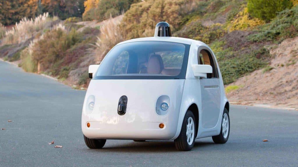 Carros sem condutor Google