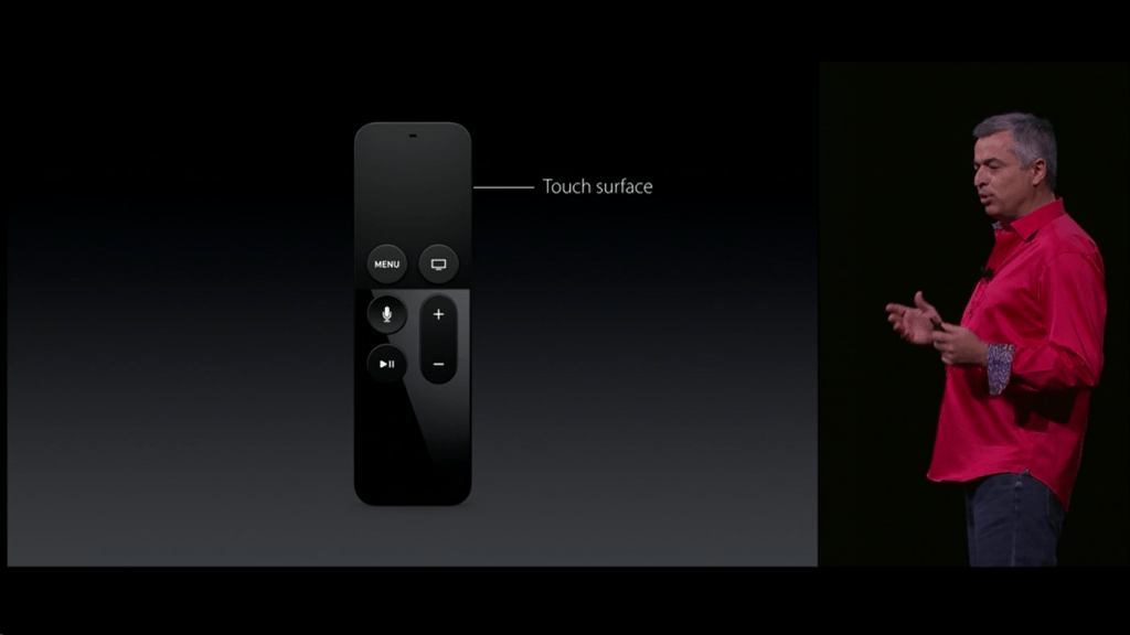 Apple TV Comando