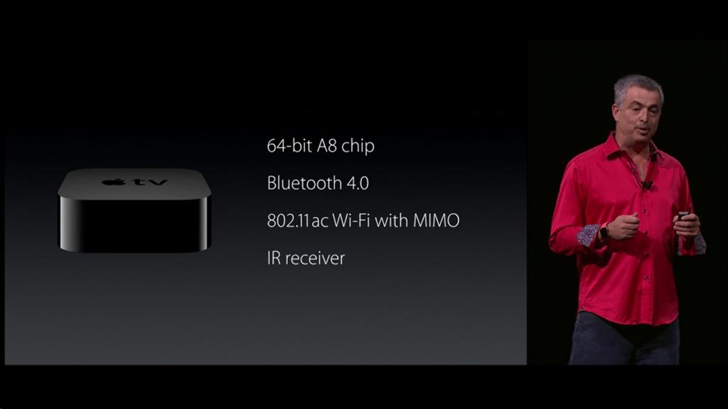 AppleTV especificações