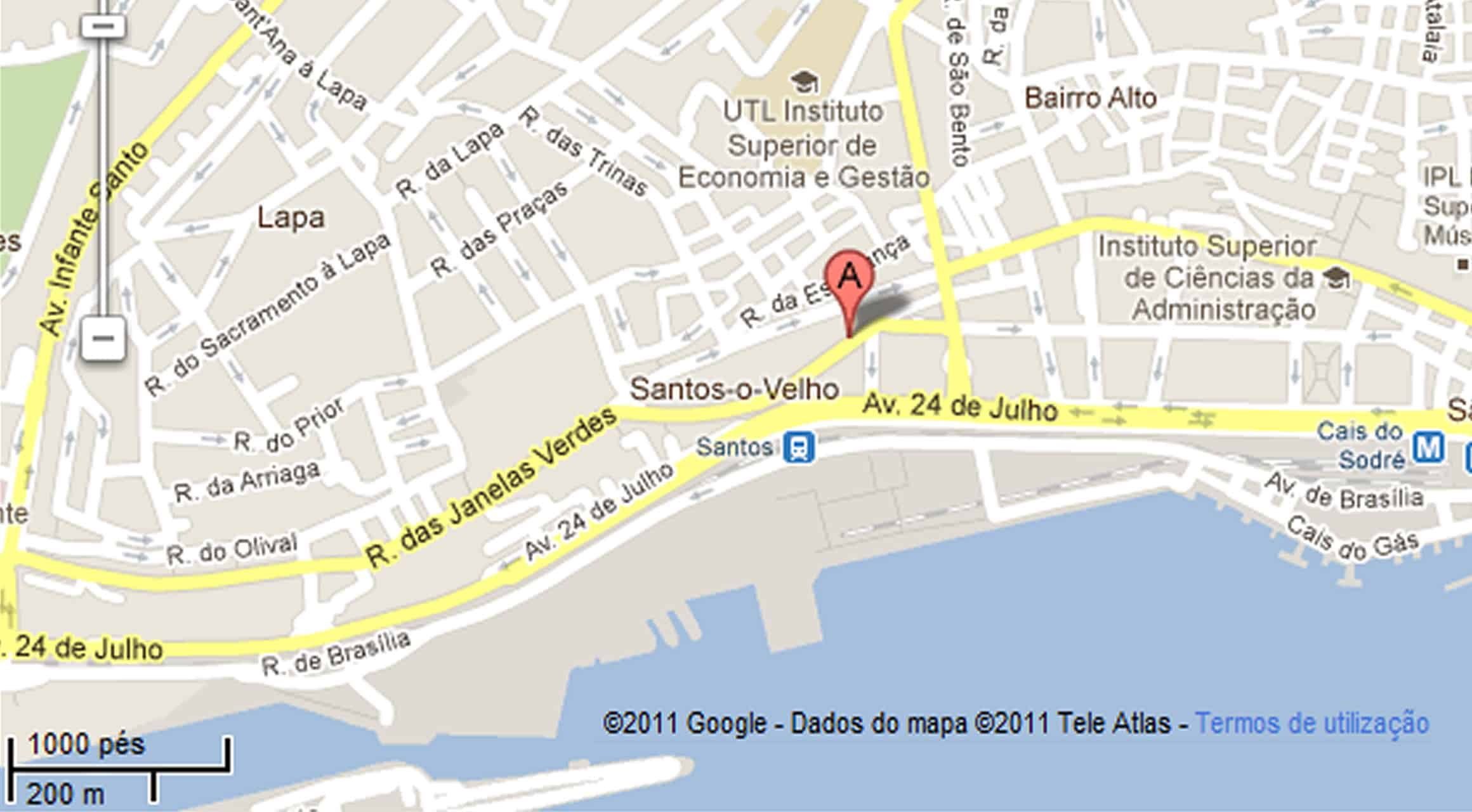 mapa lisboa google Google Maps modo offline mapa lisboa google