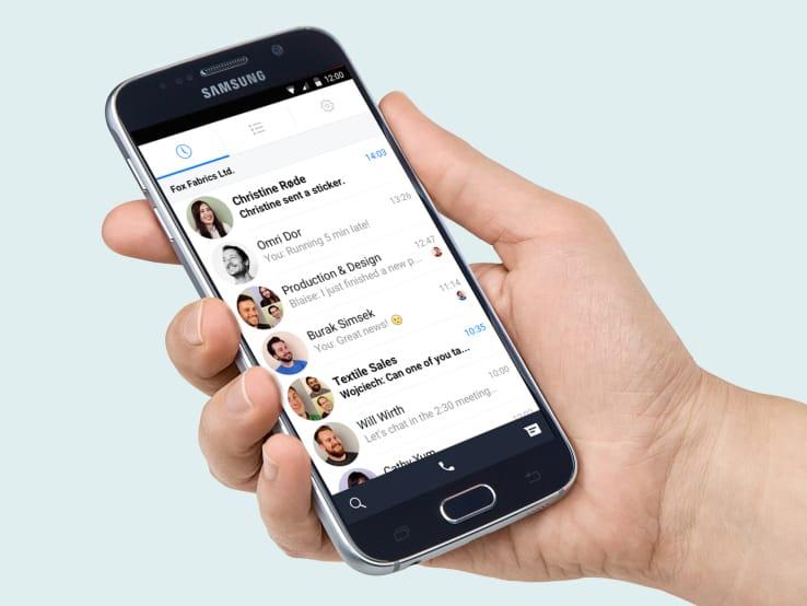 facebook-work work chat