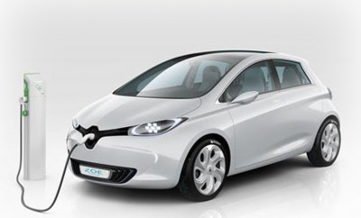 Electric Car Renault Zoe