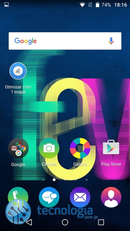 Wiko Fever 4G - Interface (4)