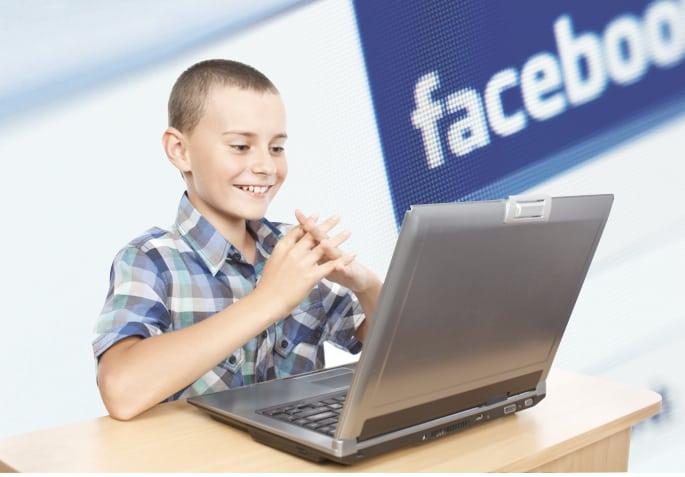 Facebook menores