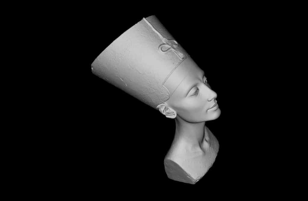 Busto de Nefertiti digitalizado