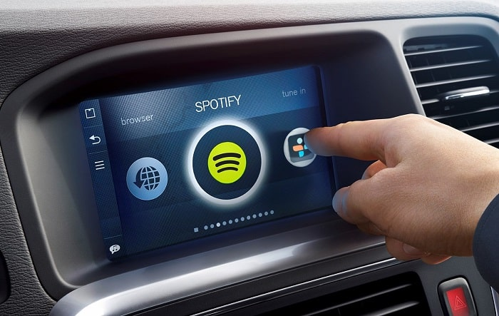Volvo Spotify