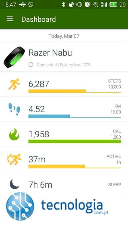 Aplicação Razer Nabu SS (1)