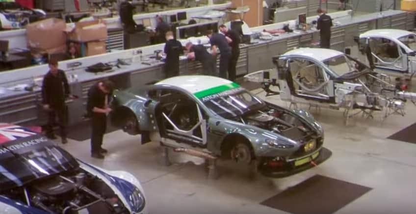 Aston Martin V8 Vantage GTE em 60 segundos