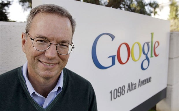 Google Eic Schmidt