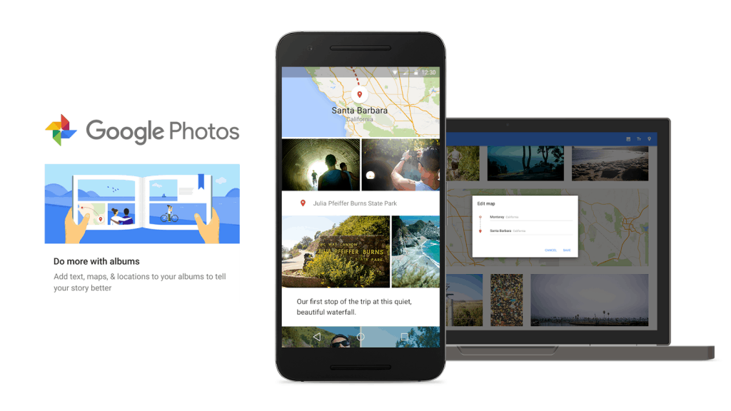 smarter-albums-graphic Google Photos