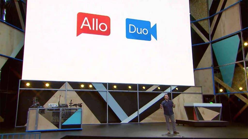 Google Allo e Duo