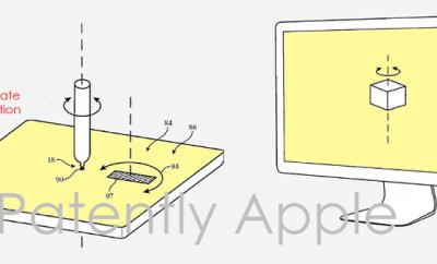 Patente Apple pen