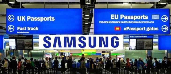 Samsung imigração reino Unido