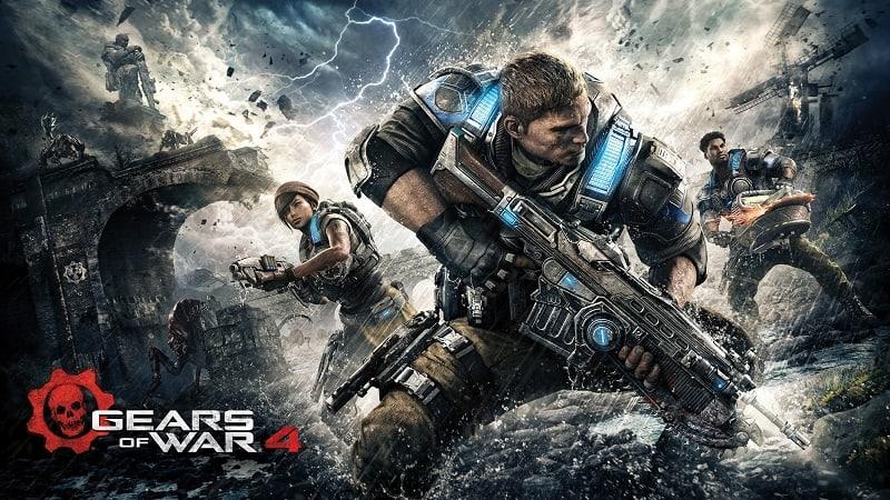 Novo vídeo gameplay de Gears of Wars 4