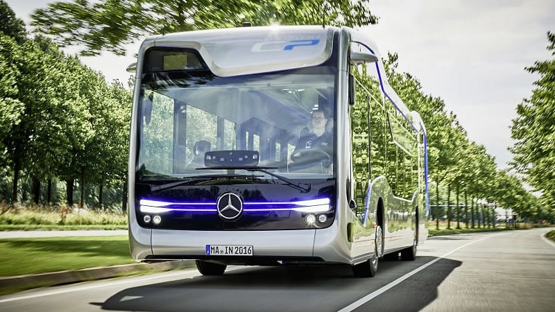 Weltpremiere: Mercedes-Benz Future Bus mit CityPilot – Meilenstein auf dem Weg zum autonom fahrenden Stadtbus