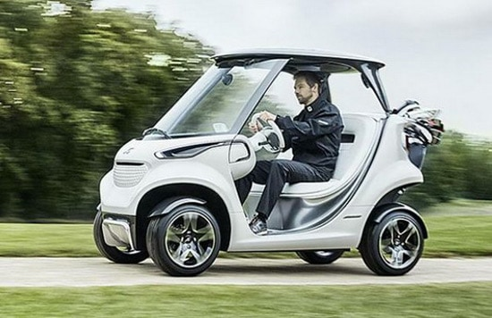 Mercedes-Benz Style Edition Garia Golf Cart
