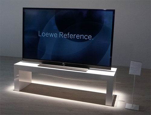 loewe adere aos ecr s oled para as suas televis es. Black Bedroom Furniture Sets. Home Design Ideas