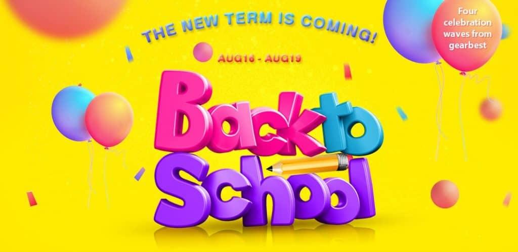 Back to School GearBest