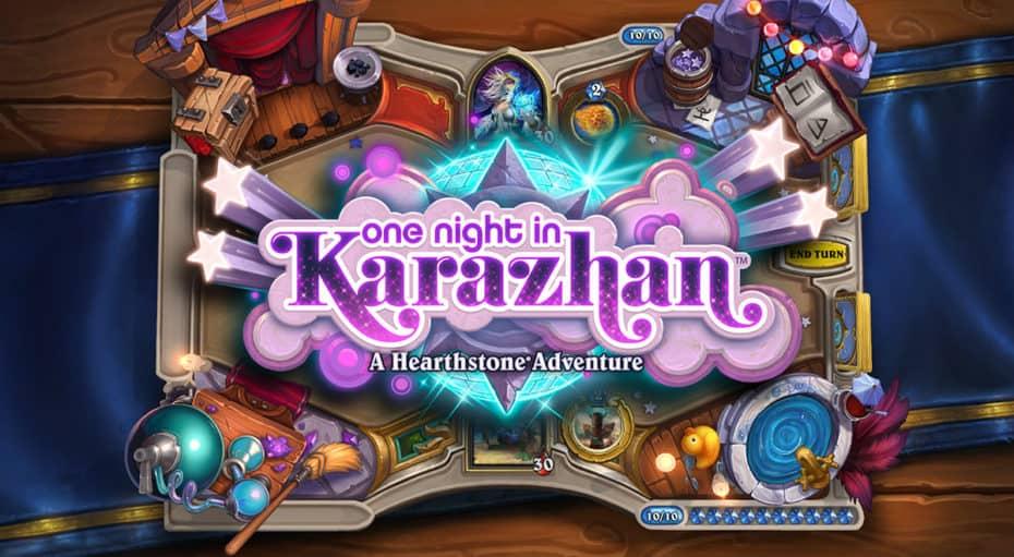 One Night in Karazhan Hearthstone